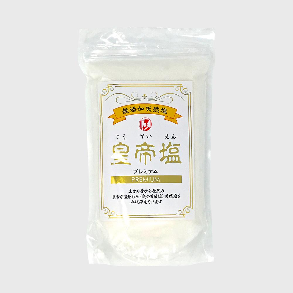【公式】プレミアム 皇帝塩300g  (天然塩 天日干し 無添加)