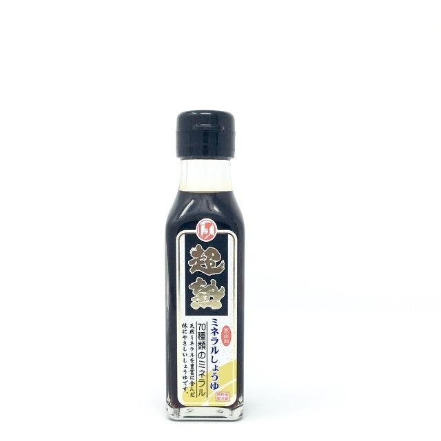 【九州&四国産原料使用】 皇帝塩醤油(超熟)120ml (mini)