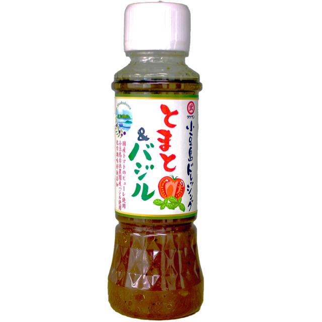 小豆島ドレッシング トマト&バジル 200ml(分離液状ドレッシング)