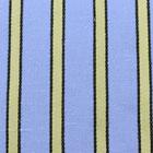 ストレッチドビーストライプ服地 ブルー×黄色 【50cm販売】≪凄安≫  (3501-03)