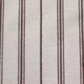 ストレッチドビーストライプ服地 ベージュ×赤茶 【50cm販売】≪凄安≫  (3501-05)