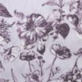 強撚スムースニット花柄プリント生地