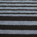 ストレッチボーダープリント生地 ブルーグレイ×黒 【80cmパネル単位】 (p1996)