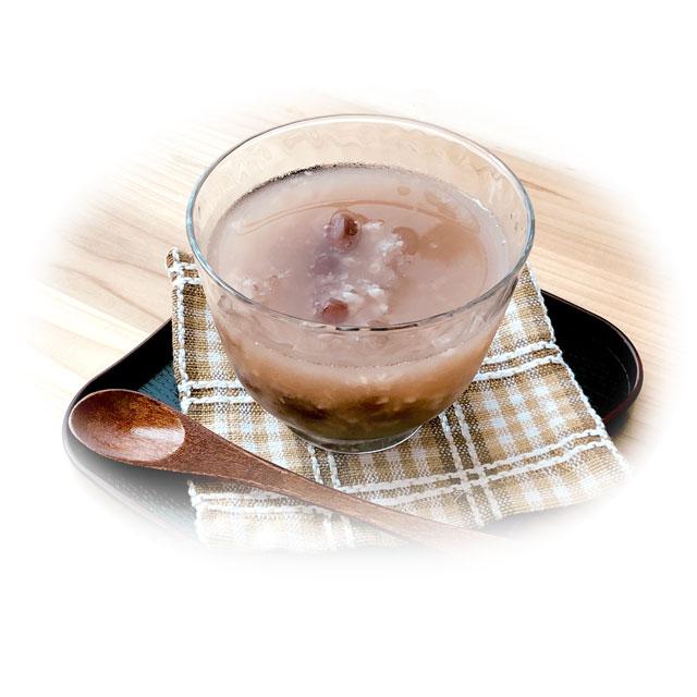 麹菌が生きている生甘酒使用。生甘酒ぜんざい10袋セット