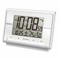 セイコー 電波デジタル温湿度表示目覚まし時計No30