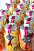 手づくりフルーツビネガー「飲んで美・ノーマル」お酢と蜂蜜と果物を毎日美味しく飲んでいつまでも美しく!【お酢、はちみつ、レモン、オレンジ、キウイ】