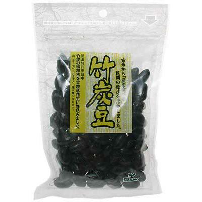 竹炭豆(国産竹炭100%使用)