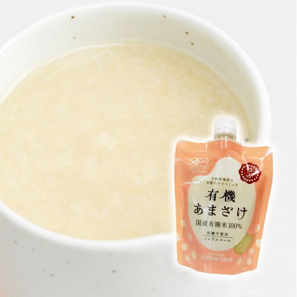 有機白米甘酒 (すり)200g