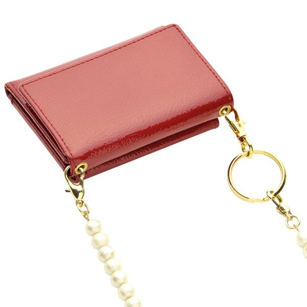 極小財布ボックスカーフブラック