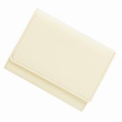 極小財布 ゴートスキン ホワイト ベーシック型小銭入れ BECKER(ベッカー)日本製