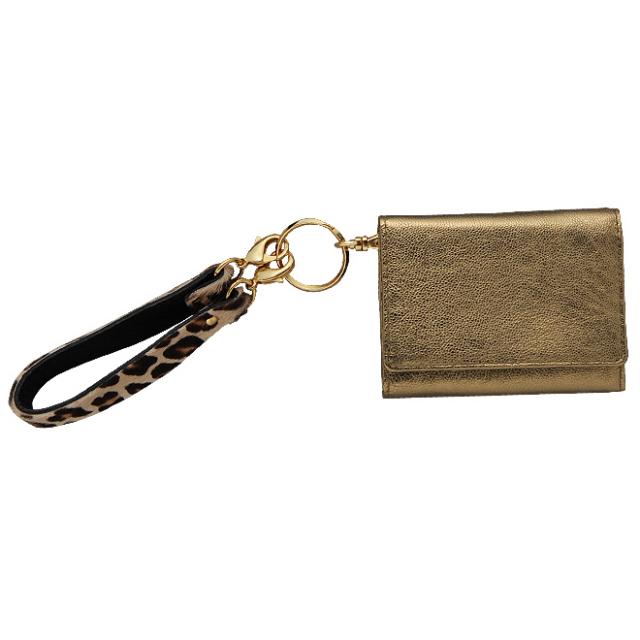 極小財布ゴートスキンメタリック