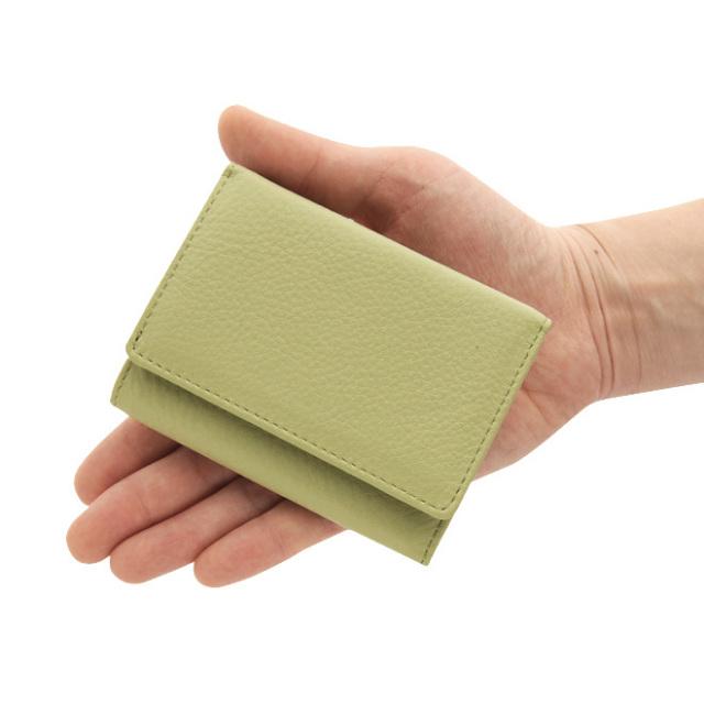 極小財布 ソフトシュリンクレザー