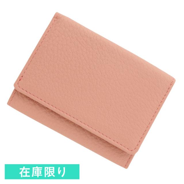 ソフトシュリンク/牛革 ピンク
