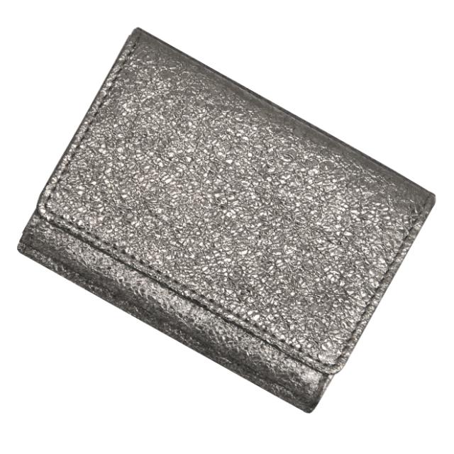 極小財布 BOX型  グリッター