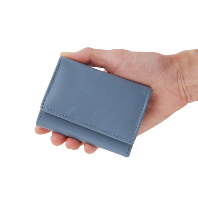 極小財布牛革