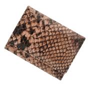 極小財布ピッグスエード パイソンピンク BECKER(日本製)
