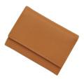 極小財布ボックスカーフコニャック