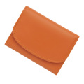 極小財布カウハイドオレンジ