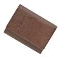 極小財布ゴートスキンブラウン