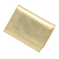 極小財布メタリックゴールド