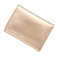 極小財布メタリックピンク