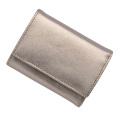 極小財布メタリックピューター