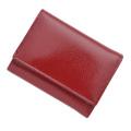 極小財布エナメルレッド