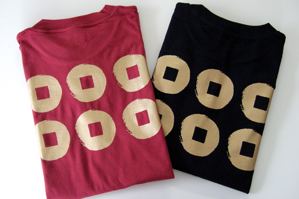 真田幸村六文銭Tシャツ