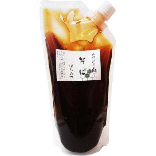 【定期購入】北海道産そば蜂蜜袋入り 800g