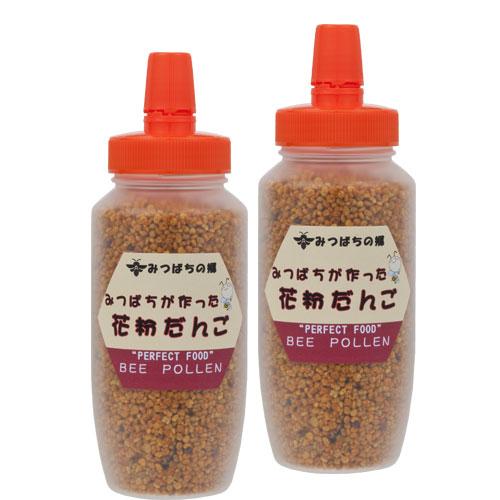 【定期購入】みつばちが作った花粉だんご(ビーポーレン)150g×2本