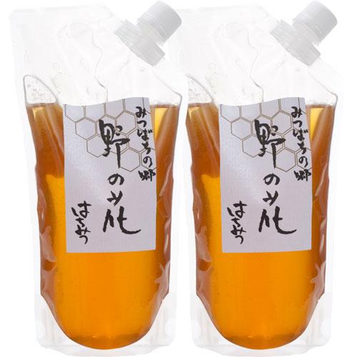 【定期購入】国産野の花蜂蜜袋入り 800g×2袋