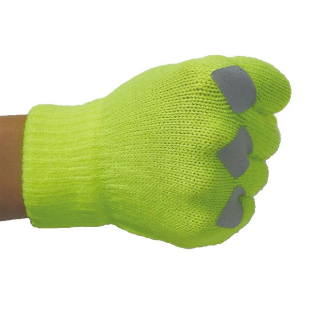 反射のびる手袋5