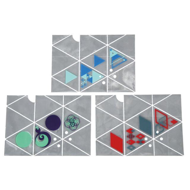 100枚アソート 反射折り三角すい