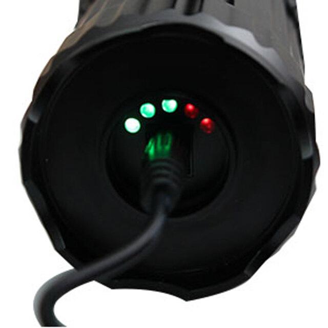 30W充電LEDサーチライト5