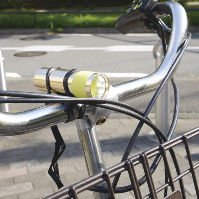 自転車ライトマウントホルダー3
