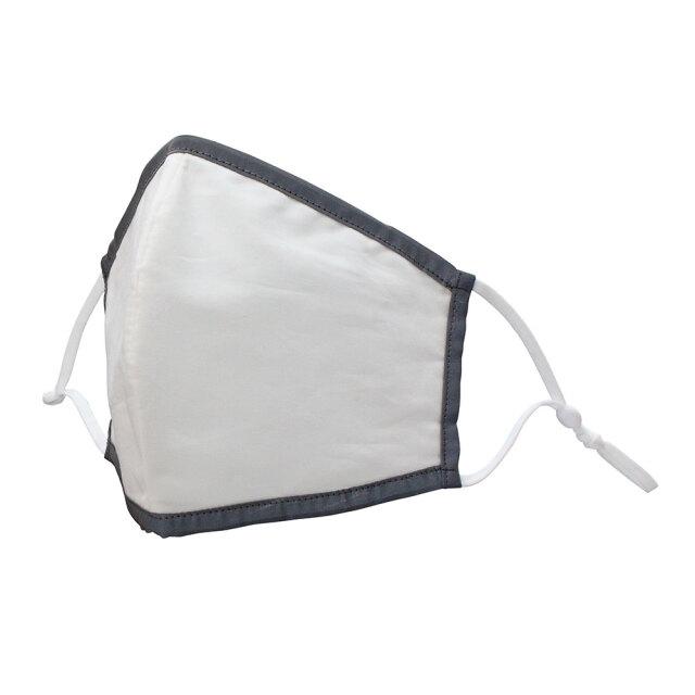 反射付き立体型綿マスク2