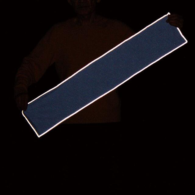 反射付きクールネックタオル(ブルー)3