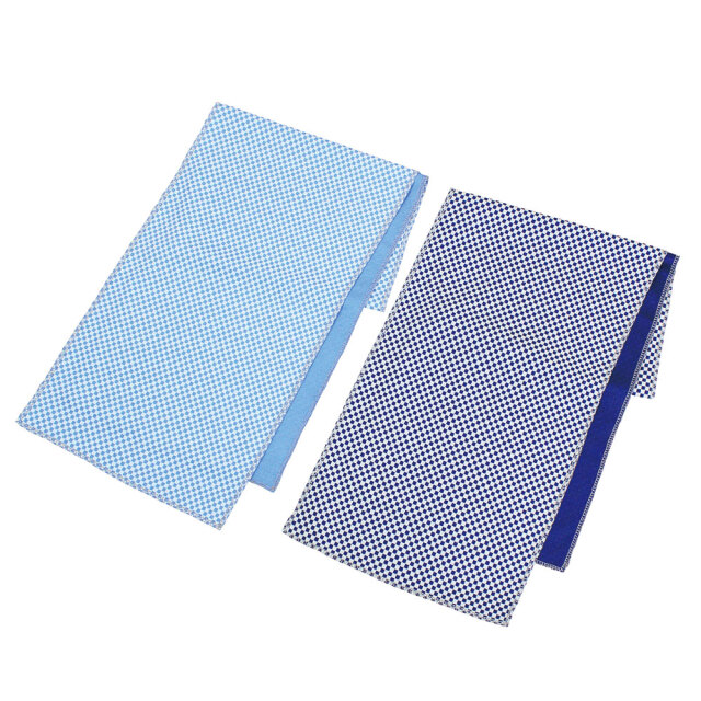 反射付きクールネックタオル(ブルー)4