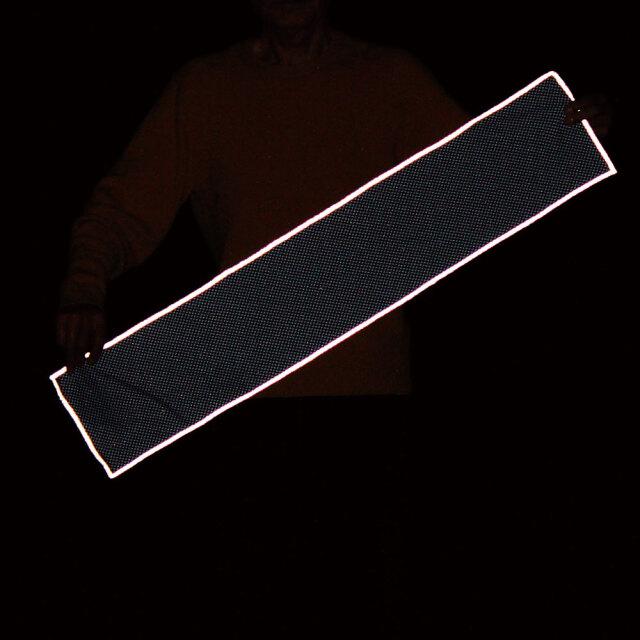 反射付きクールネックタオル(ネイビー)3