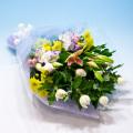 NO.42 白菊の花束
