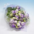 NO.44 パステルトルコキキョウの花束