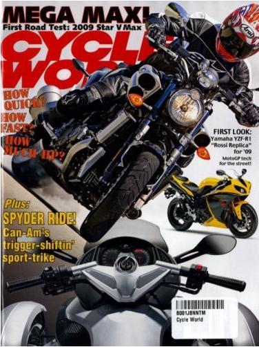 Cycle World (洋雑誌 定期購読 640円x12冊 )