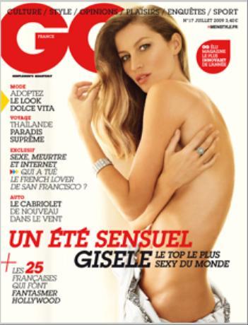 GQ Franch Edition (フランス洋雑誌 定期購読 1580円x12冊 )