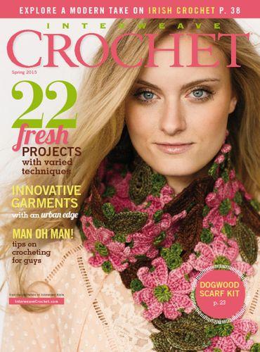 Interweave Crochet (かぎ棒編み海外雑誌 定期購読1580円x4冊)