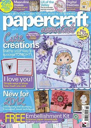 Papercraft Essentials/ペーパークラフト (イギリス洋雑誌 定期購読 1890円x13冊 )