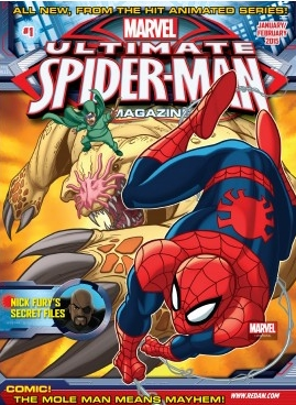 Ultimate Spider Man/スパイダーマン(アメリカ幼児英語教材の定期購読 1080円x6冊)