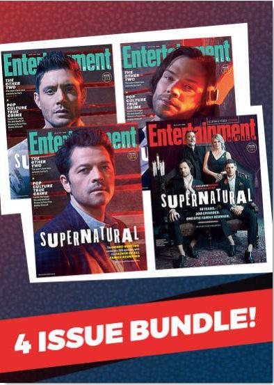 【単号】Entertainment Weekly/スーパーナチュラル表紙2019年1月25日海外ドラマ雑誌 [送料無料][コレクターズ]