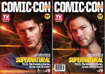 TV Guide/テレビガイド Comic Con 2013│Supernatural The Vampire Diaries送料込み