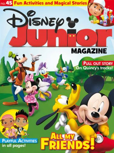 Disney Junior Magazine/ディズニージュニア (幼児英語教材の定期購読 1080円x6冊)