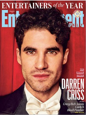 <ご予約のお客様専用>Entertainment Weekly December 7 2018 Darren Criss